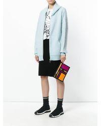 KENZO - Multicolor Clutch Bag - Lyst