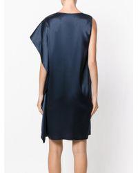 Gianluca Capannolo - Blue One Shoulder Dress - Lyst
