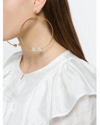 Chloé - Multicolor Darcey Hoop Earrings - Lyst