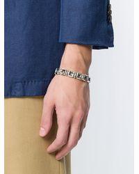 Northskull - Metallic Square Link Bracelet for Men - Lyst