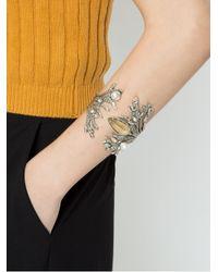 Camila Klein - Metallic Pearl Embellished Cuff - Lyst
