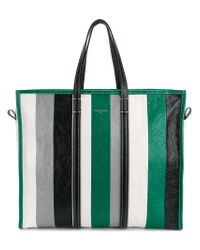 Balenciaga - Green Bazar Shopper L for Men - Lyst