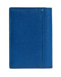 Burberry - Blue London Folding Card Case for Men - Lyst