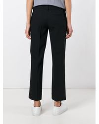 Cedric Charlier - Blue Tailored Trousers - Lyst