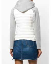 Peuterey - White Two Tone Padded Jacket - Lyst