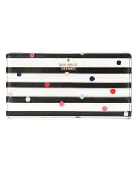 Kate Spade - Black Cameron Street Confetti Dot Stacy Purse - Lyst