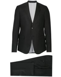 Emporio Armani - Black Two-piece Suit for Men - Lyst