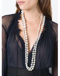 Rosantica | White 'lun' Necklace | Lyst