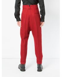 Haider Ackermann - Drop-crotch Tailored Trousers for Men - Lyst