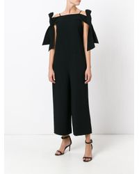 Tibi - Black Relaxed Fit Jumpsuit - Lyst