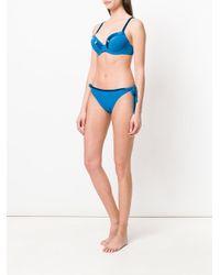 Marlies Dekkers - Blue Kiss Push-up Bikini Top - Lyst