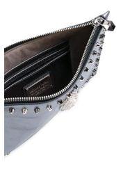 Philipp Plein | Metallic Baby Love Clutch Bag | Lyst