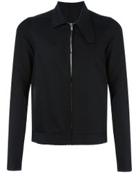 Rick Owens - Black Oblong Collar Jacket for Men - Lyst