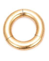 Monies Metallic Large Tri Sectional Bracelet