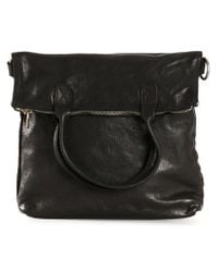 Guidi | Black Distressed Leather Shoulder Bag for Men | Lyst