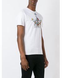 Vivienne Westwood - Black Harlequin Print T-shirt for Men - Lyst