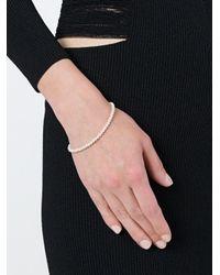 Uzerai Edits - White Pearl Bracelet - Lyst