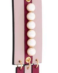 Marni - Pink Embellished Pendant Necklace - Lyst