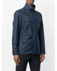 MICHAEL Michael Kors Blue High-collar Field Jacket for men