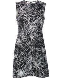 Diane von Furstenberg - Black 'madyson' Dress - Lyst