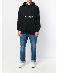 Stampd - Black Logo Hoodie for Men - Lyst