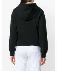 A.F.Vandevorst Black Zipped Hooded Sweatshirt