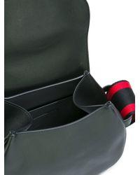 Alexander McQueen - Black Maxi Buckle Shoulder Bag - Lyst