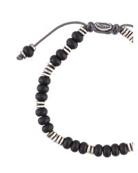 M. Cohen - Black 'templar Disc & Stacked Gems' Bracelet for Men - Lyst