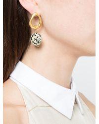 Alighieri - Metallic Drop Earrings - Lyst