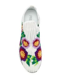Premiata - White Janei_3127 Slip On Sneakers - Lyst