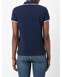 KENZO - Blue 'mini Tiger' Polo Shirt - Lyst