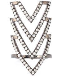 Elise Dray - Metallic 'inca' Phalange Ring - Lyst