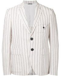 Andrea Pompilio - Multicolor Striped Blazer for Men - Lyst