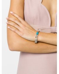 Iosselliani | Metallic Elegua Turquoise Bracelet | Lyst