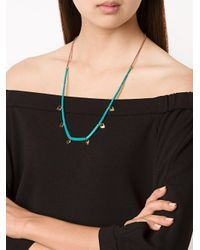 Lizzie Fortunato - Blue 'simple' Necklace - Lyst