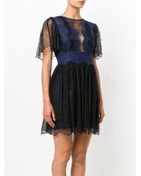 Three Floor - Black Foxglove Lace Dress - Lyst