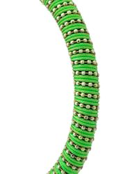 Carolina Bucci | Green Twister Bracelet | Lyst