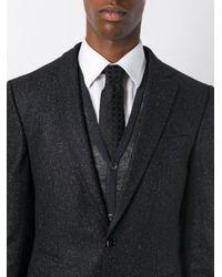Canali - Black Polka Dot Tie for Men - Lyst