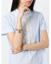 Loree Rodkin - Black Beaded Diamond Wing Bracelet - Lyst
