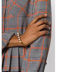 Marni - Metallic Structured Bangle Bracelet - Lyst