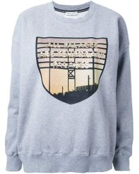 Each x Other - Gray 'limited Edition Robert Montgomery' Sweatshirt - Lyst