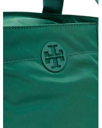 Tory Burch - Green Quinn Large Zip Tote - Lyst