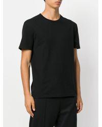 Stella McCartney - Black Logo Print T-shirt for Men - Lyst
