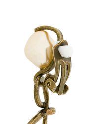 Marni - Metallic Abstract Chandelier Earrings - Lyst