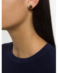 Eddie Borgo - Black Cone Stud Earrings - Lyst