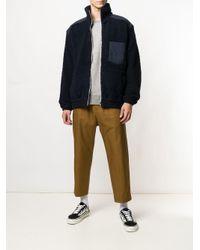 Nanamica - Blue Shearling Jacket for Men - Lyst