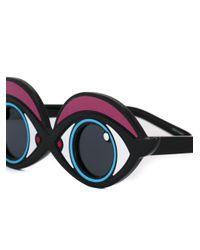 Yazbukey - Blue Eye Sunglasses - Lyst