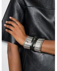 FEDERICA TOSI - Metallic New Stick Cuff Bracelet - Lyst