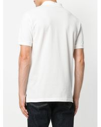 Moschino - White Question Mark Logo Polo Shirt for Men - Lyst