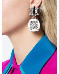 DANNIJO - Metallic Wilhelmjna Earrings - Lyst